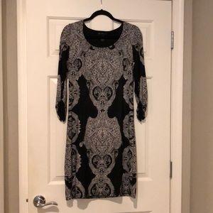 INC Black dress, knee length - size: M